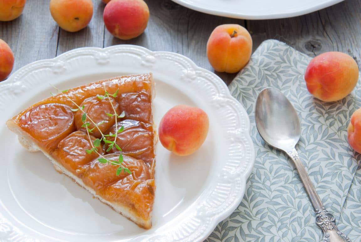 tarte tatin abricots