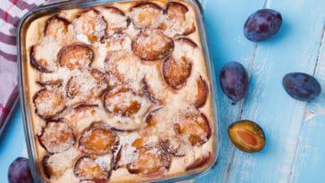 clafoutis aux prunes