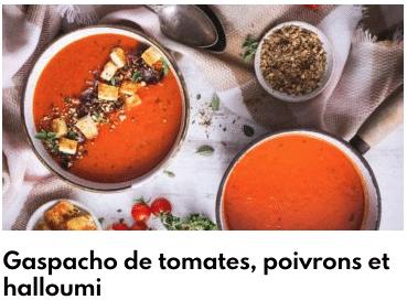 gazpacho de pimiento y tomate