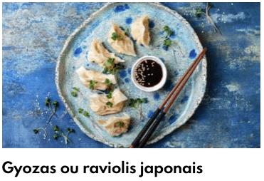 gyozas japonais