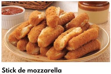 palo de mozzarella