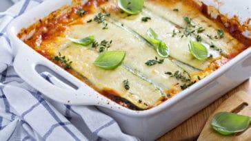 lasagnes courgettes