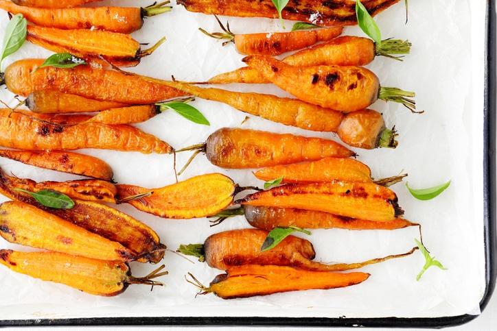 carrotes rôties