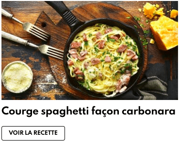 courge spaghettis