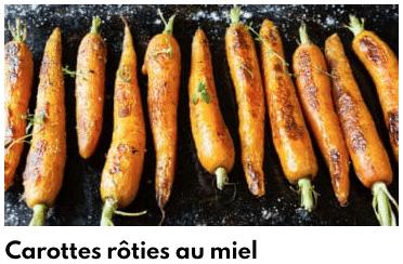 carottes rôties