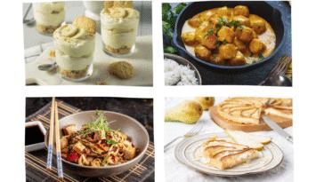 menu de la semaine 19 au 25 octobre