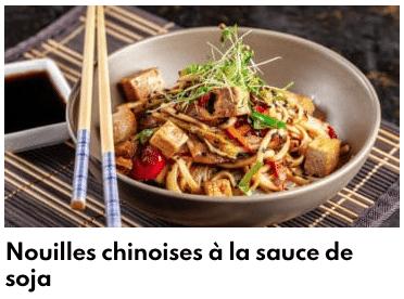 nouilles chinoises sauce soja