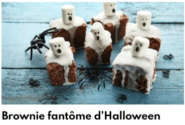 brownie d'halloween