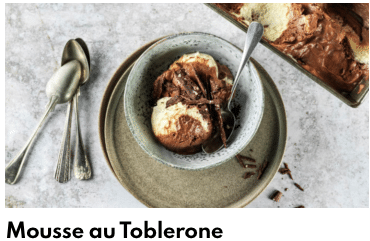 mousse au toblerone