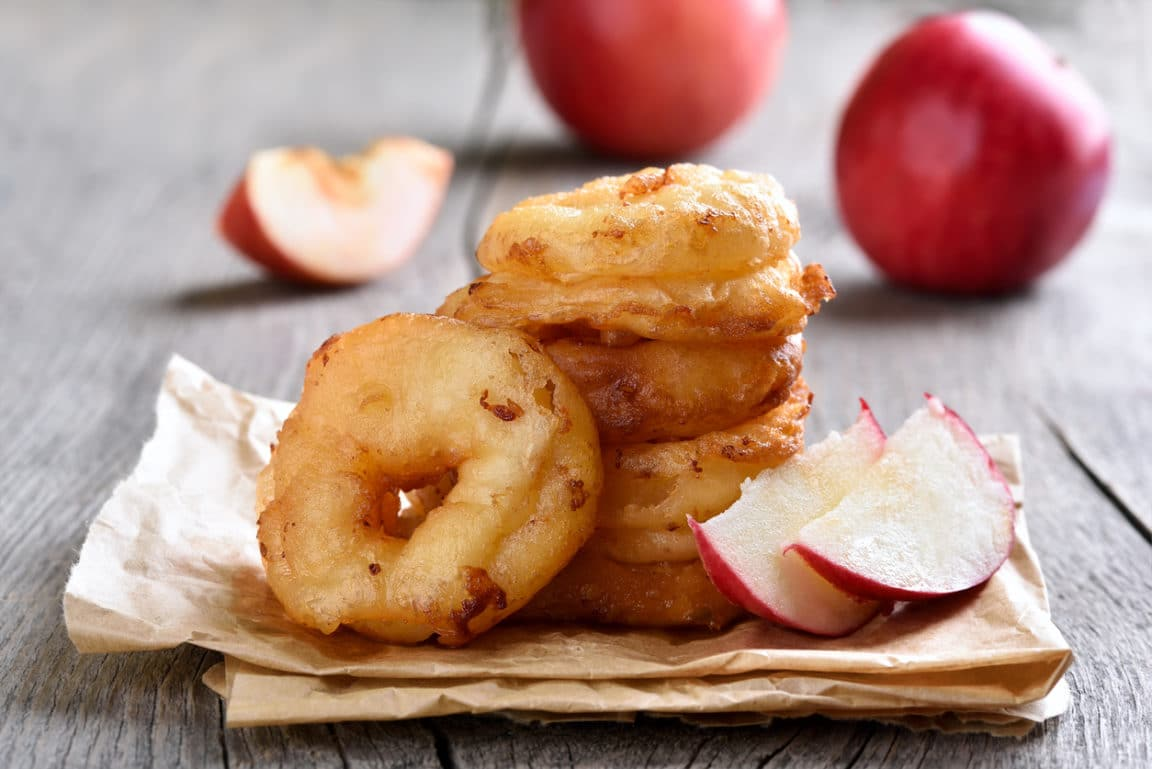 beignets pommes