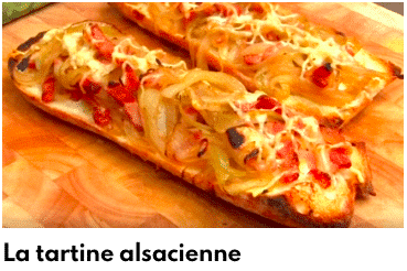tartines alsaciennes