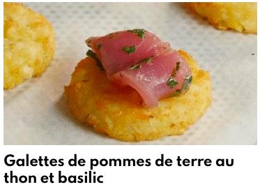 galettes pommes de terre