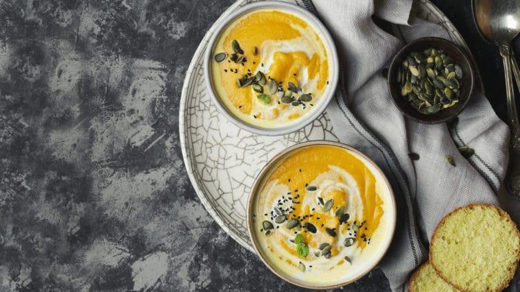 soupe patate douce crème de coco