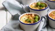 gratin champignosn poulet