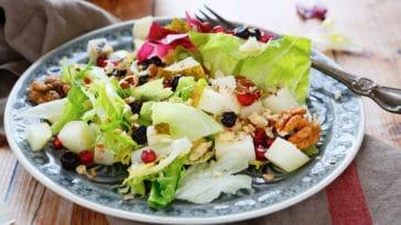 salade poires