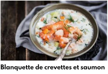 blanquette saumon
