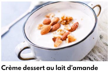 crème lait d'amande