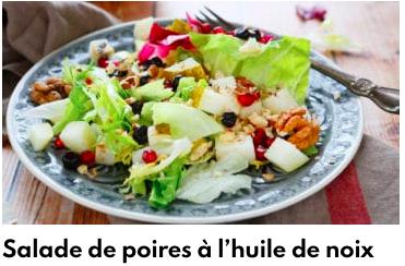 salade poire