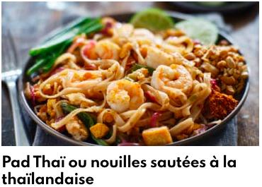 nouilles thailandaises