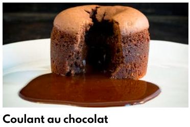 coeur coulant chocolat