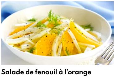 salade fenouil orange