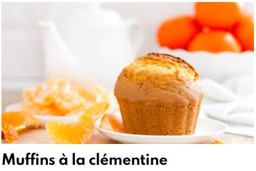 muffins clémentines