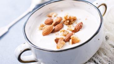 crème dessert lait d'amande