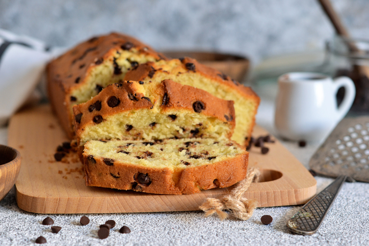 cake pépites chocolat