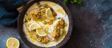 poulet crémeux citron