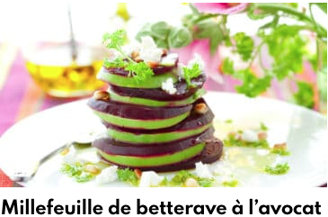 millefeuille betterave