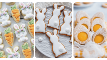 5 recettes de sablés de pâques
