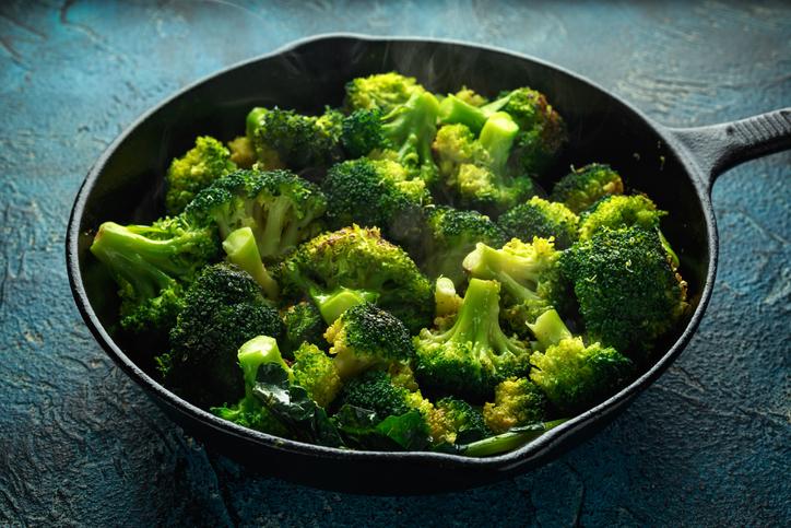 crème de brocolis