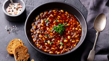 soupe de légumineuses