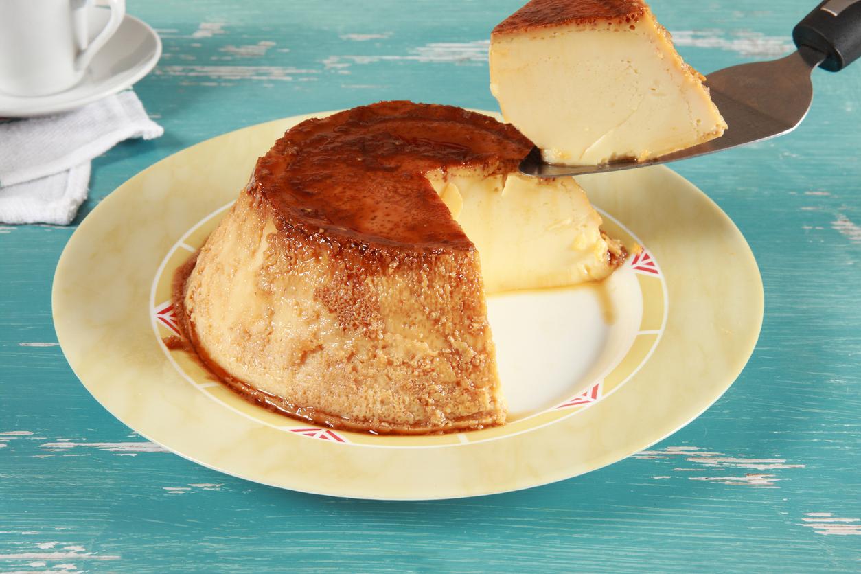 crème renversée clémentine