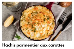 hachis parmentier aux carottes