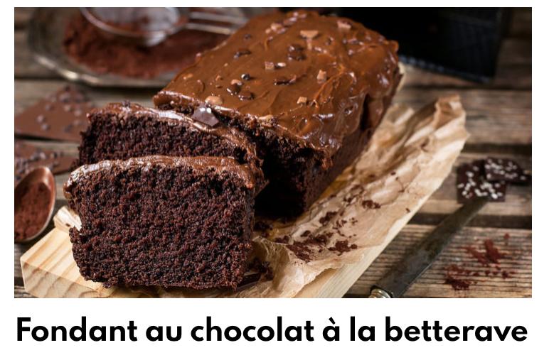 gateau chocolat betterave