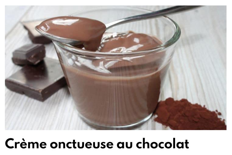 Creme onctueuse au chocolat