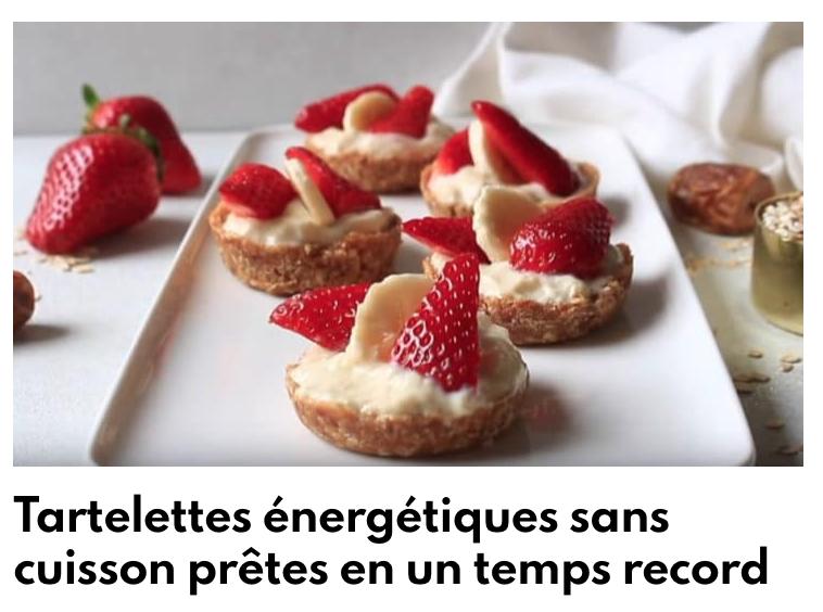 Tartelettes énergétiques