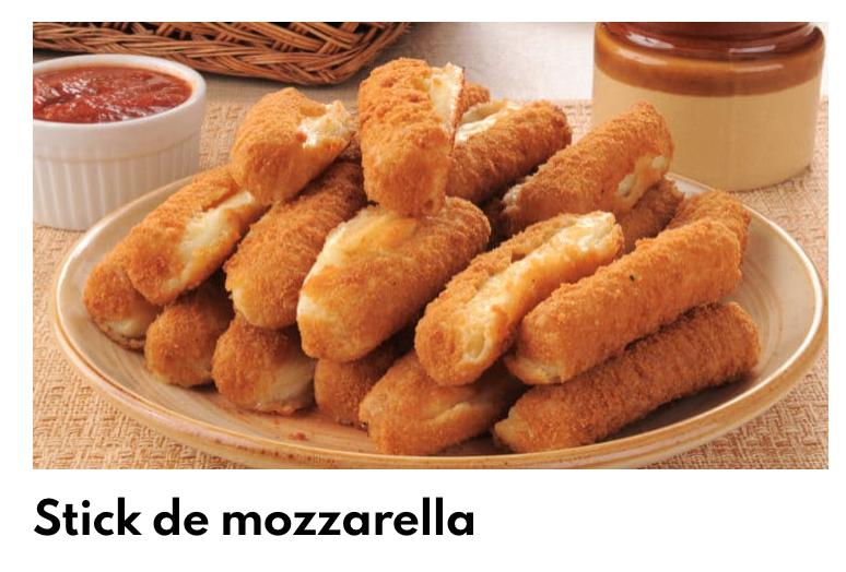 Stick mozzarella