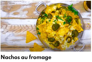 nacchos au fromage