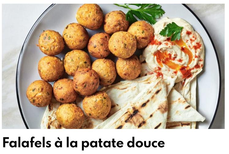 Falafels patate douce