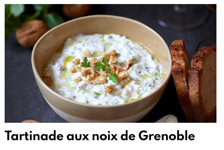 Tartinade aux noix de Grenoble