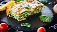 Lasagne epinards gorgonzola