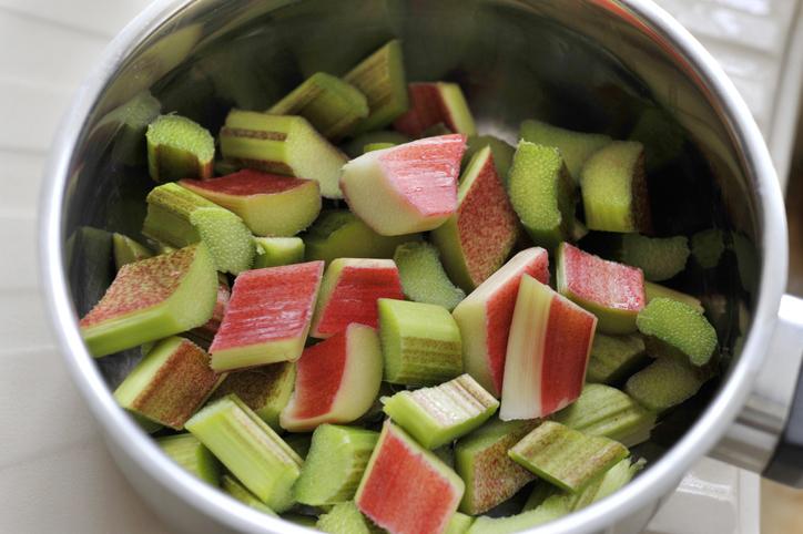 rhubarbe casserole