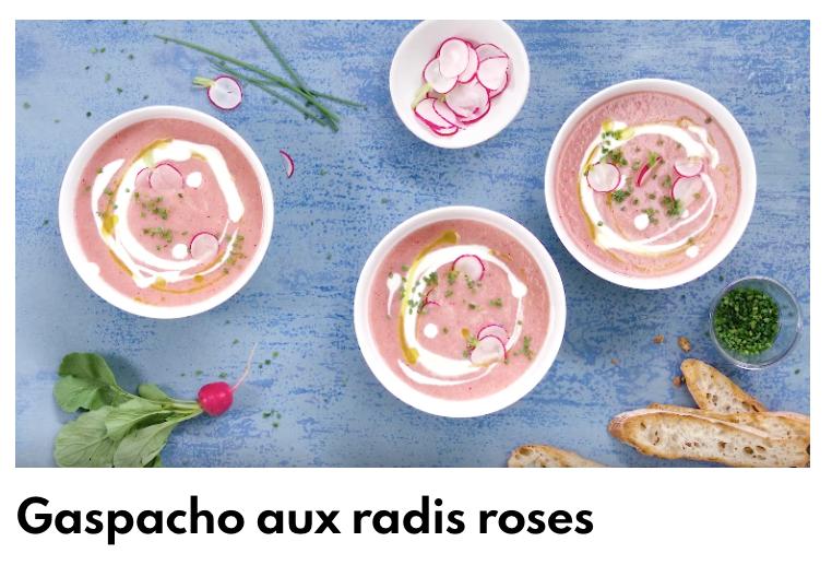 Gaspacho radis