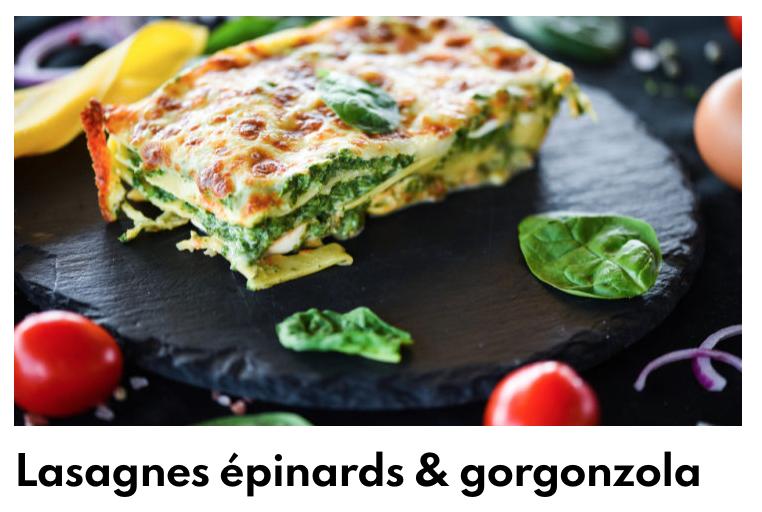 Lasagnes épinards et gorgonzola