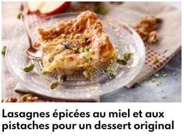 lasagnes épicées