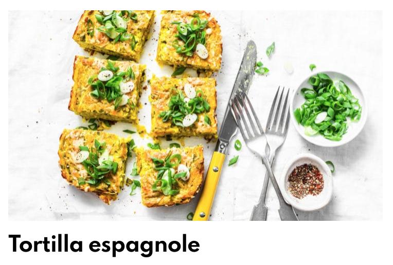 Tortilla espagnole