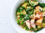 Taboulé de boulgour et saumon