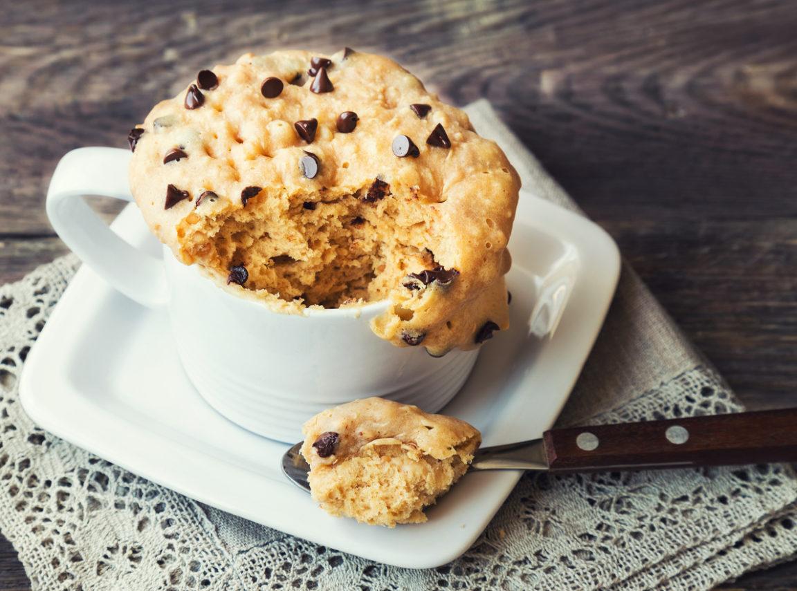 Mugcake cookie